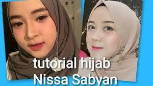 tutorial makeup ala nissa sabyan gambus