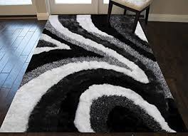 8x10 feet cream white black gray grey