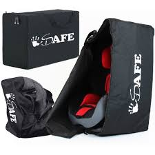 isafe universal car seat travel bag for