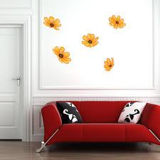 Shop Sunflowers Floral Vinyl Wall Art Overstock 10760760