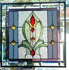 window hanging stained glass art stain