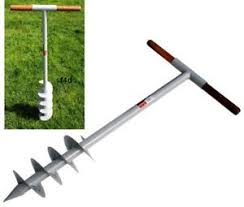 1m Fence Post Auger Hole Drill Digger Manual Tool 160mm 6 Bore 1000mm New 5050520552218 Ebay
