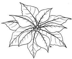 Poinsettia Free Printable 2 Kerstster Patroon Bloem Kerst Kaarten