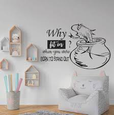 8de8 Cartoon Fish Bathroom Decor Wall Sticker Room Decal Art Kids Room 17cb For Sale Online Ebay
