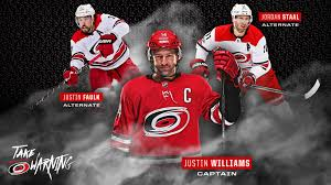 Canes Name Justin Williams as Team Captain