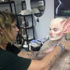 elegant bat special effects makeup