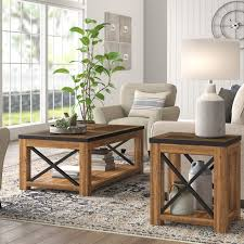 battershell 2 piece coffee table