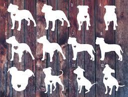 Pitbull Decal Pitbull Sticker Love A Bull Car Decal By Slrustic Pitbull Tattoo Dog Decals Dog Tattoos