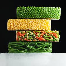 الخضروات المجمدة يمكن سبارك في الميكروويف