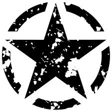 Us Army Used Star Sticker