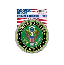 Us Army Seal Full Color Window Decal Sticker Licensed Custom Sticker Shop
