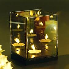single tea light candle holder infinite