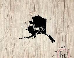 Alaska Wall Sticker Etsy