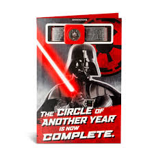 Tarjeta Cumpleanos Song Darth Vader