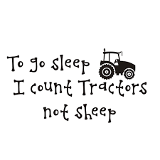 I Count Tractors Not Sheep Wall Stickers Boys Room Home Decor Vinyl Sticker Removable Cartoon Wall Decals For Children Bedroom Decals For The Walls Decals For Wall From Joystickers 11 31 Dhgate Com