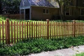 Everlasting Fence Company Fence Design Wood Picket Fence Picket Fence