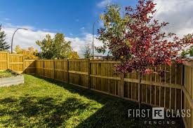 Best Noise Barrier Fence For Your Home In Calgary First Class Fencing