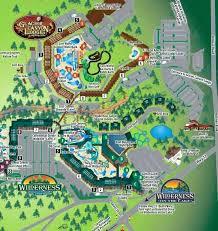 wisconsin dells map wilderness resort