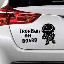 Vinyl Mini Iron Man Car Sticker Car Truck Body Side Door Sticker Decal Graphic Universal Car Side Door Stickers Car Stickers Aliexpress