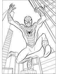 Tổng hợp các bức tranh tô màu người nhện đẹp nhất - Zicxa hình ảnh |  Avengers coloring pages, Superhero coloring pages, Spiderman coloring
