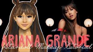 ariana grande makeup everyday