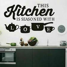 Removable Kitchen Oil Proof Wall Fruits Stickers Vinyl Decals Dining Room Decor5 For Sale Online Ebay