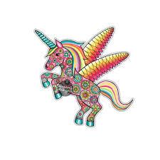 Unicorn Sticker Colorful Multicolor Cute Car Decal Laptop Etsy