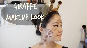 giraffe halloween makeup you