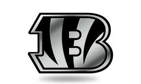 Cincinnati Bengals Logo 3d Chrome Auto Decal Sticker New Truck Car Rico Groupon