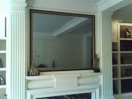 tv disguised as a mirror home house