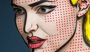 red dots on face