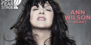 Anne Wilson of Heart to play at CFCC's Wilson Center