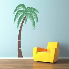 Amazon Com Palm Tree Wall Decal Extra Large 6 Foot Tropical Wall Decal Handmade