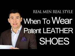 patent leather men s dress shoes when