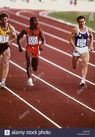 CALVIN SMITH athletic USA sprint Stock Photo: 233776460 - Alamy