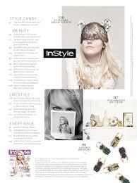 dakota fanning instyle magazine uk