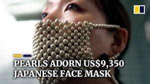 Japanese designer's face masks with 310 real pearls put US$9,350 ...