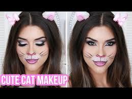 11 easy cat halloween makeup tutorials