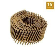 ring shank coil nails romac