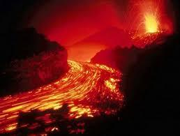 Ríos de lava en Hawai