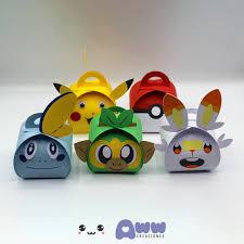 Cajitas Pokemon Aww Creaciones