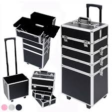zebra pro rolling makeup case salon
