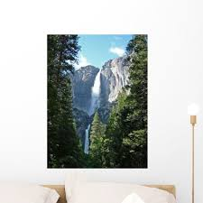 Yosemite Fall Yosemite Valley Wall Decal Wallmonkeys Com