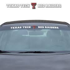 Texas Tech Windshield Decal Fanmats Sports Licensing Solutions Llc