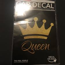 Accents Queen Car Decal Poshmark