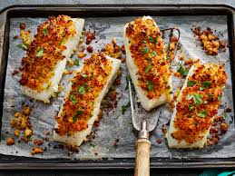 Parmesan Crusted Baked Fish Recipe ...