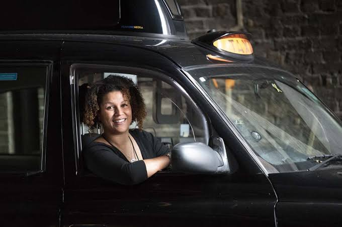 Image result for black woman in taxi