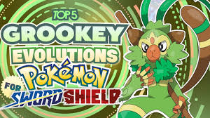 Top 5 NEW Evolutions for Grookey in Pokemon Sword and Pokemon ...