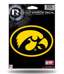Iowa Hawkeyes 5 Decal Flat Vinyl Die Cut Auto Home Sticker Emblem University Of Ebay