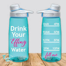 Drink Your Effing Water Vinyl Decal Drink Your Water Bottle Sticker Drink Your Effing Water Tumb Water Bottle Decal Water Bottle Decals Vinyls